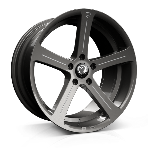 19x9.5 5-120 ET45 CADES APOLLO ACCENT GUNMETAL C72