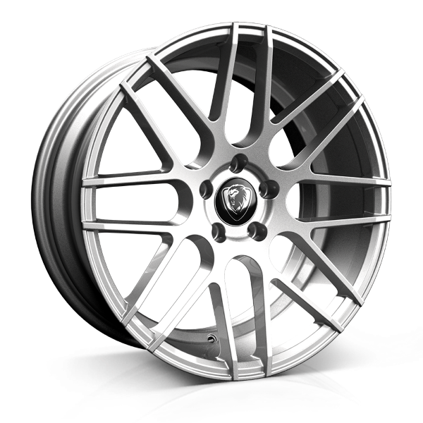 Cades Artemis 19 inch wheel finished in Silver; drilled to 5x120 stud pattern