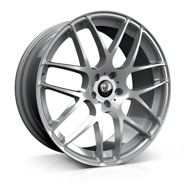 Cades Bern 20 inch wheel finished in Silver; drilled to 5x108 stud pattern
