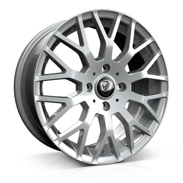 Cades Vienna 17 inch wheel finished in Silver; drilled to 4x100 stud pattern