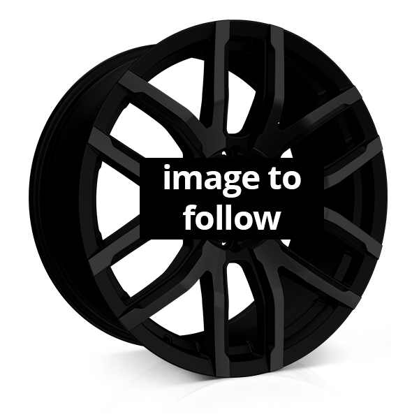 18x8.0 6-130 ET48 CADES RS COMMERCIAL JET BLACK C84