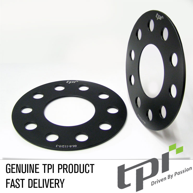 TPI 5mm Hubcentric Wheel Spacers /& Extended Wheel Bolts Alfa Romeo 159