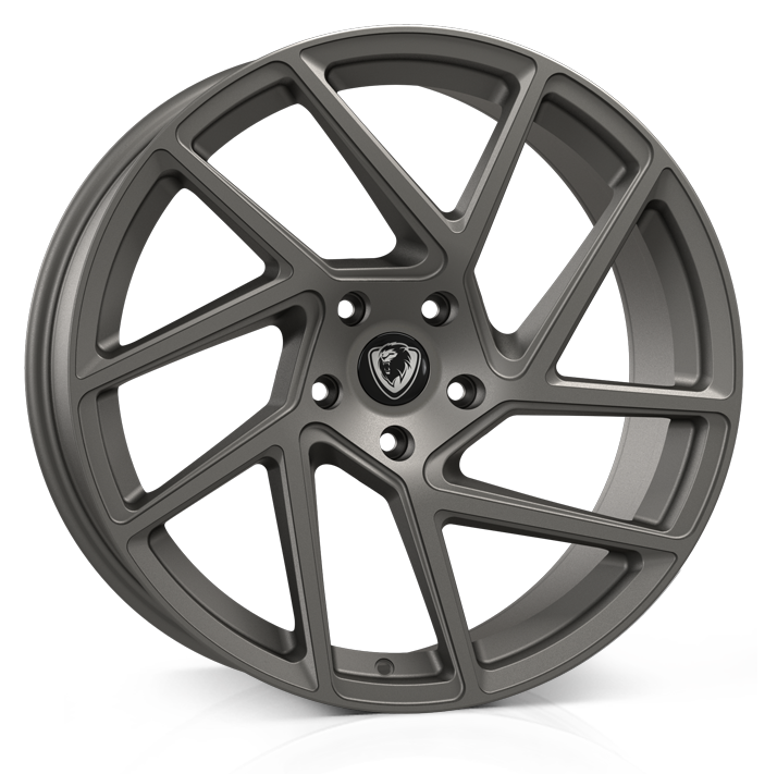 Cades Athena 20 inch wheel finished in Black; drilled to 5x120 stud pattern